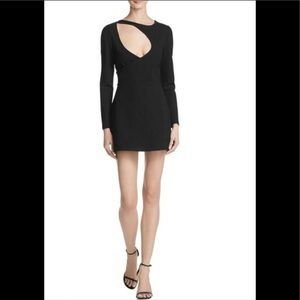 Kendall & Kylie cutout black dress